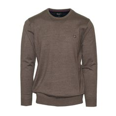 "Ανδρική Μπλούζα Πλεκτή ""Dakota"" Oxygen λαιμόκοψη Knitwear, Sweatshirts, Long Sleeve, Sleeves, Sweaters, Mens Tops, T Shirt, Collection, Fashion"