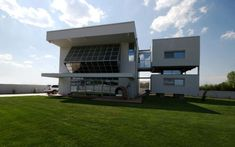 Passive Solar House Design Overlooking Mount Olympus | Modern House Designs