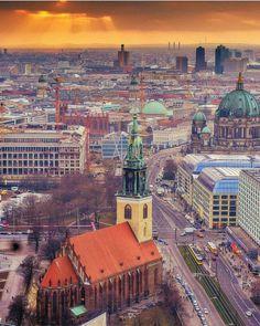 Fantastic shot of the Berlin city taken by IG @ norwaychild #parkinn #addingcolourtolife