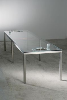 The most useless dining table ever?
