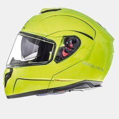 MT ATOM sv Modular Helmets (YEL Hi-Viz). *DOT//ECE*