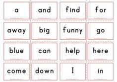 Dolch Flashcards - Second Grade Sight Words - Aussie Childcare Network Color Flashcards, Number Flashcards, Sight Word Flashcards, Second Grade Sight Words, Pre Primer Sight Words, Third Grade, Cursive Words, Alphabet Words, Aussie Childcare Network