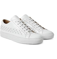 Woven Wonder: OAMC Woven Polished Leather #Sneakers   #SHOEOGRAPHY