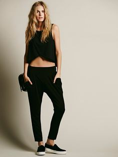 Free People Drapey Pocket Pant, $78.00. I don't usually like haram type pants but these are super cute.