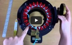 Addi Knitting Machine Tutorial - How to Make Flat Panels
