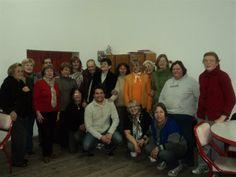 Uno de los grupos de adultos mayores que realizan el Taller de Memoria