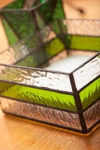 Creative Company | Classy Glass Art: Serviette box