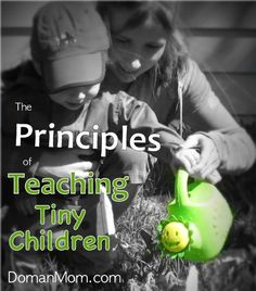 The Principles of Teaching Tiny Children. Glenn Doman's failsafe rules for teaching your tiny child absolutely anything. Inquiry Based Learning, Early Learning, Learning Activities, Activities For Kids, Glenn Doman, Teaching Babies, Gross Motor Skills, Home Schooling, Creative Kids