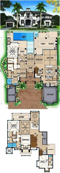 House Plan 75954 I absolutely love this floor plan. I would make a few tweeks to make it perfect.