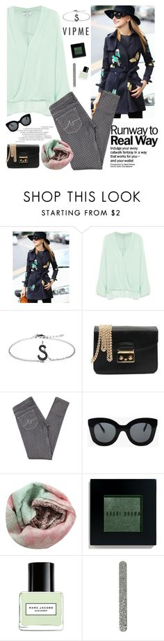 """Runaway to Real Way"" by sabinakopic ❤ liked on Polyvore featuring moda, Parker, AG Adriano Goldschmied, CÉLINE, Pashma, Bobbi Brown Cosmetics, Marc Jacobs, women's clothing, women y female"