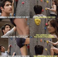 Teen Wolf Scott and Allison