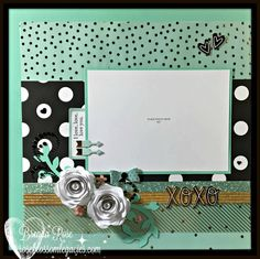 Now that my sisters have received their Christmas gifts, I can show you what I made them!         I put this layout in a Designed Decor Sha...