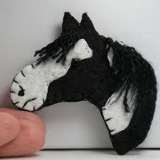 Image result for horse felt ornament