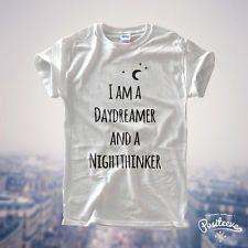 DAYDREAMER NIGHTTHINKER T SHIRT TOP MESS TUMBLR CUTE DRAKE PLANTS BOHO HIPSTER