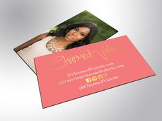 Gold Foil Business Cards Unique by ShaynaMade on Etsy