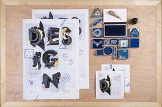 ADD / Aneta Sládková - Vizuální styl konference Design na hranici (2012/2013)
