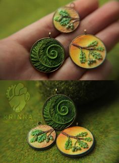 New miniature pendants by Krinna on DeviantArt