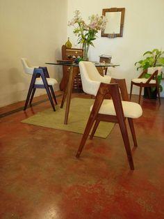Kai Kristiansen inspired Kompass chair in reclaimed teak.