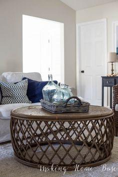 This DIY living room