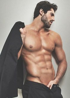 e3de7bb24c Male Model, Good Looking, Beautiful Man, Guy, Handsome, Hot, Sexy, Eye  Candy, Beard, Muscle, Hunk, Abs, Six Pack, Shirtless 男性モデル
