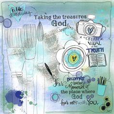 What is Bible Art Journaling?  Sue Carroll