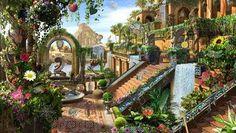 バビロン 空中庭園 - Google 検索