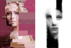Digital Generative Illustrations by Sergio Albiac_delood