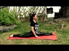 Tutorial: Front Split for Beginners (Full Routine) Credit to Kung Fu Lifestyle. Tai Chi For Beginners, Karate Kick, Shaolin Kung Fu, Stretches For Flexibility, Martial Arts Women, Pole Fitness, Beautiful Yoga, Qigong, Bodybuilding Workouts
