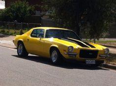71 ss yellow Camaro