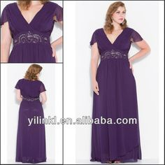Maid of honor dress plus size