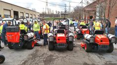 The city of TN has continued to acquire propane-powered zero-turn and now has over 20 in the fleet. Domestic Cleaners, Zero, Monster Trucks, American