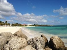 Beach at Our Lucaya Radisson. Lucaya Bahamas. One of our faves!