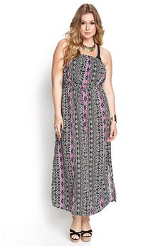Tribal Print Maxi Cover-Up   FOREVER21 #F21Plus