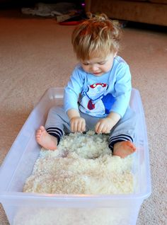 Just in case you missed any of the winter sensory fun we've been sharing here ...