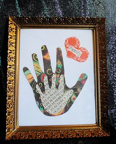 Another creative take on handprint art