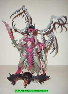 Spawn WIDOW MAKER 1996 series 5 grey skin complete todd mcfarlane toys action figures