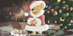 Merry Christmas from Pooh!
