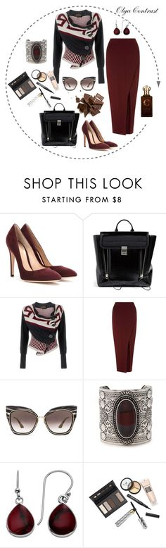 """16.06.2016"" by olgacontrast on Polyvore featuring мода, Gianvito Rossi, 3.1 Phillip Lim, Vivienne Westwood Anglomania, Miss Selfridge, Dita, Forever 21, Borghese и Clive Christian"