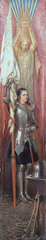Joan Of Arc by Theodore Blake Wirgman