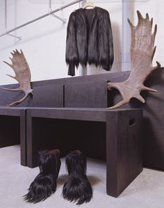 'Stag benches' by Rick Owens, 2006