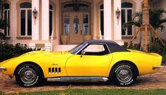 1969 Chevrolet Corvette #cars #coches #carros