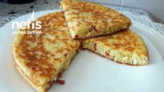 Yufkasız Kahvaltılık Börek Pizza, Cheese, Food, Essen, Meals, Yemek, Eten
