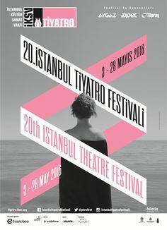 Istanbul Theatre Festival 2016 #festival #affiche #affichefestival https://fr.pinterest.com/igreka2n/festival/