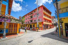 the Most Cheerfully Colorful Town in the World