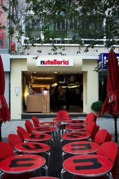Nutelleria, Frankfort, Germany. So going here!!