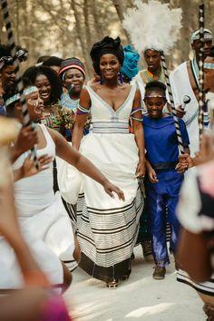 Wedding Dresses South Africa, African Wedding Attire, Woodland Wedding Venues, Xhosa, Traditional Wedding Dresses, Event Company, Celebrity Weddings, African Fashion, Wedding Ceremony