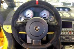 2014 LAMBORGHINI GALLARDO LP570-4 SQUADRA CORSE Steering Wheel and Dashboard