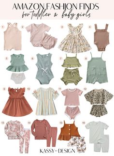 Toddler Girl Style, Toddler Girl Outfits, Baby Girl Dresses, Toddler Fashion, Fashion Kids, Cute Baby Girl Clothes, Cute Toddler Girl Clothes, Girls Fashion Clothes, Urban Fashion