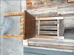 Loneman Mountain Barnwood Dining Chair