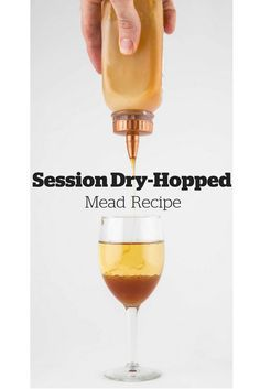 This easy-to-drink sparkling mead with aroma hops is sure to be a favorite among your beer-drinking friends.